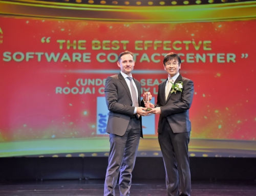 Quality Connex Implemented Solution Helps Roojai Win Best Contact Centre Software Award in Thailand's Emerging Contact Centre Space